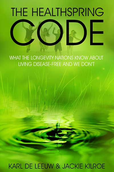 The Healthspring Code front cover